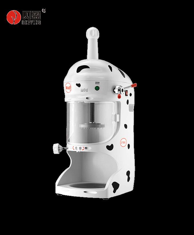 BY-118 White Snow Ice Shaver Bingsu Machine
