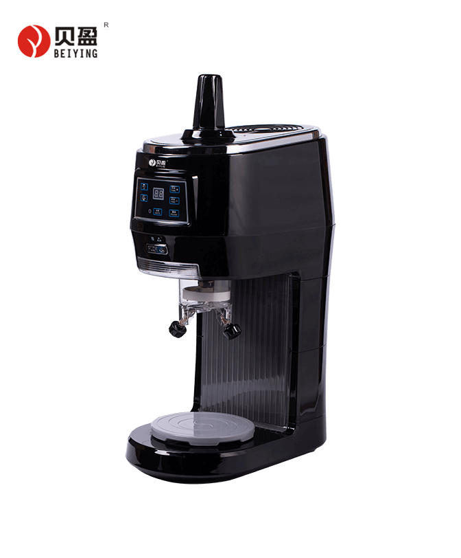 BY-208S-Black Single serving bingsu ice shaver machine for commercial use