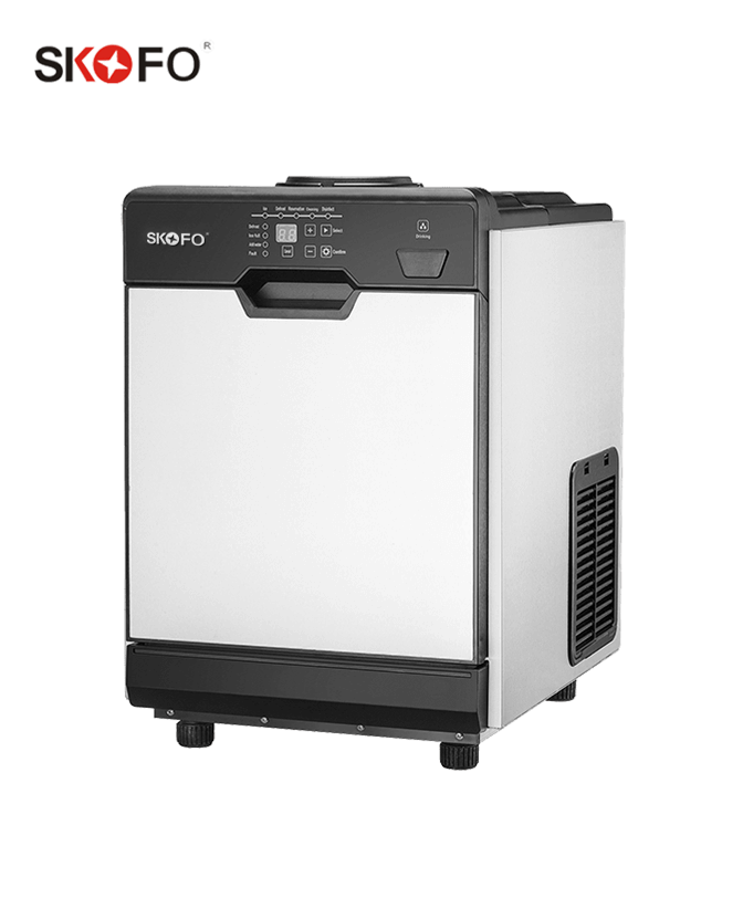 BY-Z25FT-Countertop Ice Maker Water Dispenser And Big Storage Capacity Ice Maker For Commercial Use